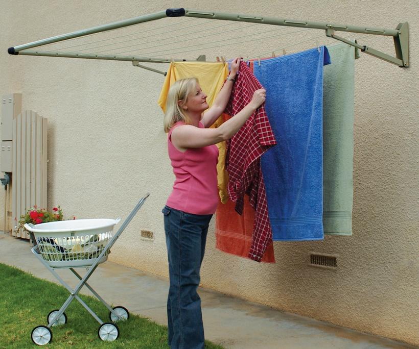 Hills Frazer Folding Frame Clothesline